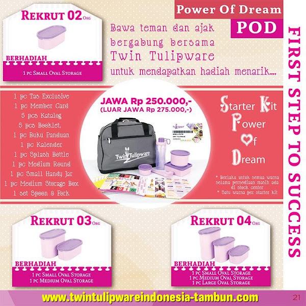 Paket Member POD Baru Tulipware 2016 | Starter Kit | Kit Bag