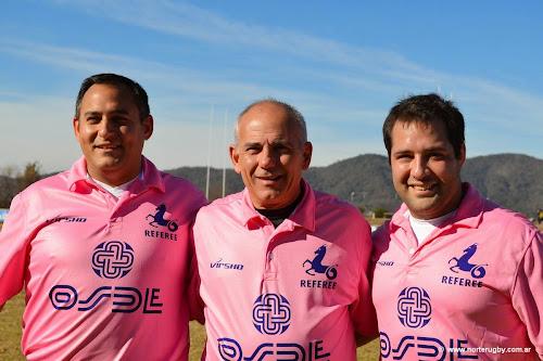 Maxi Juliá, Alejandro Marenco e Iñaky Barraguirre