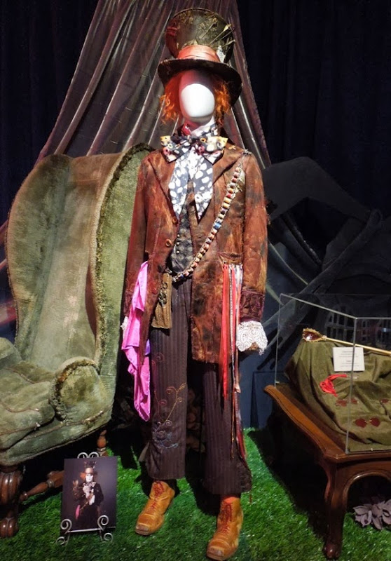 Johnny Depp Mad Hatter Alice in Wonderland costume