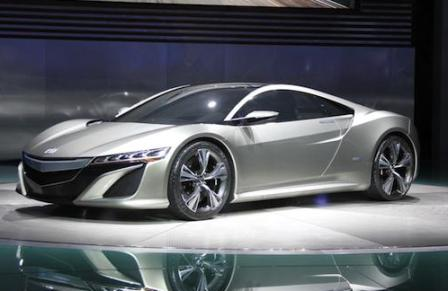 Acura on Acura Has Taken The Wraps Off The Concept Of The Nsx Acura Nsx S