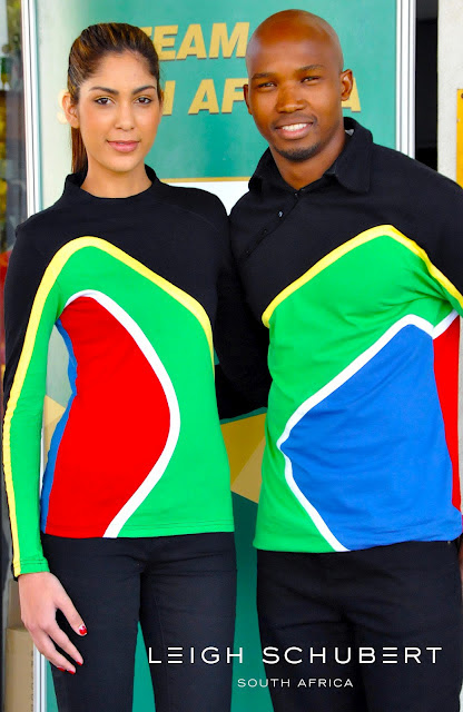 South Africa olympic sailing team uniform