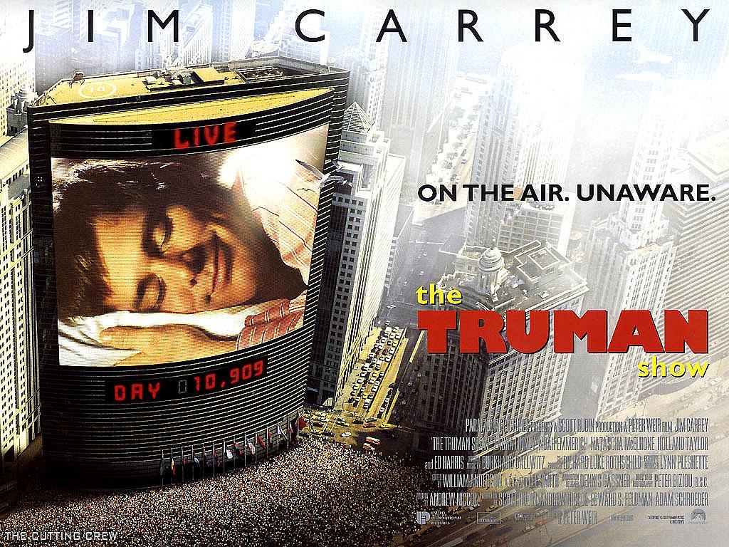 Шоу трумана / the truman show (1998) жанр: фантастика драма год: 1998 студия: paramount pictures режиссер