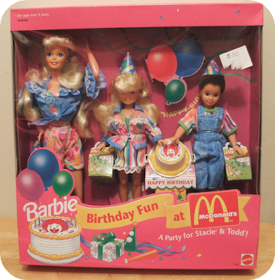 Barbie, Stacie and Todd McDonald's Birthday Fun Set