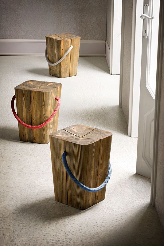 Banco Reaproveite madeira