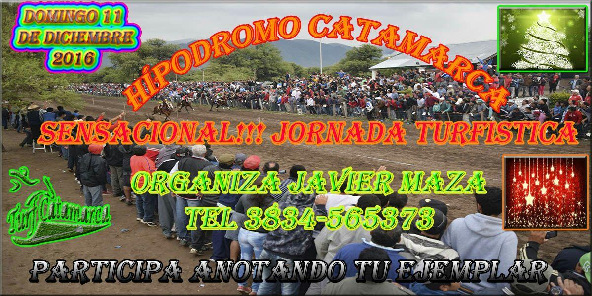 HIPODROMO CATAMARCA DOMINGO 11 DE DICIEMBRE