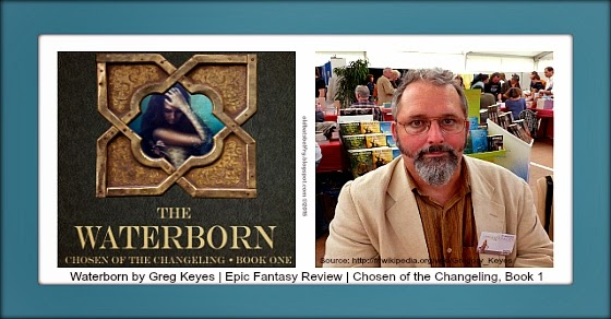 Epic Fantasy eBook Review of Waterborn by Greg Keyes