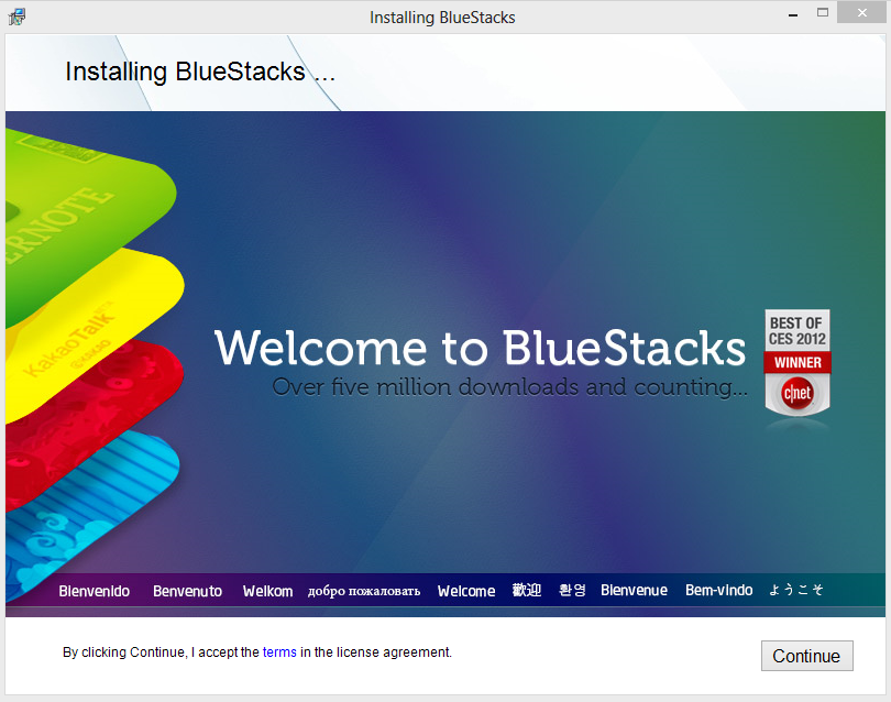 BlueStacks - Menjalankan Android di Windoe 2