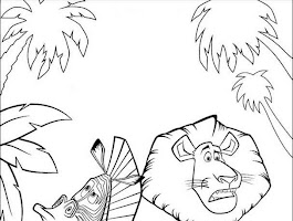 Penguins Of Madagascar Coloring Pages Printable