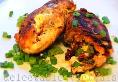 easy recipe chicken cordon bleu chicken kiev pesto sun-dried tomato feta capers stuffed chicken