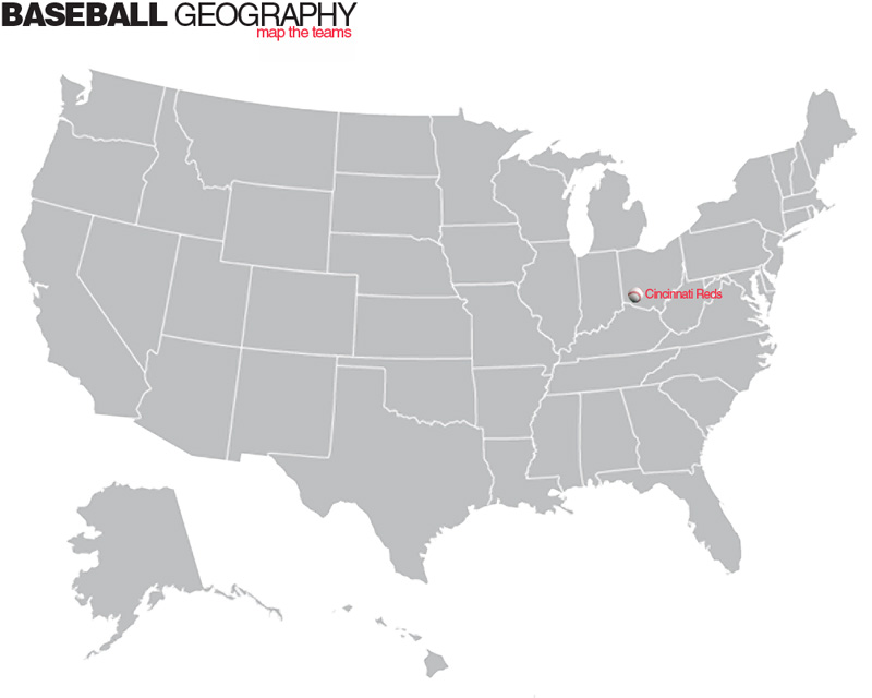 Baseball Math Geography