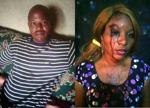 See What A Man Did To His Wife For Greeting A Pastor (Grahic Photo)