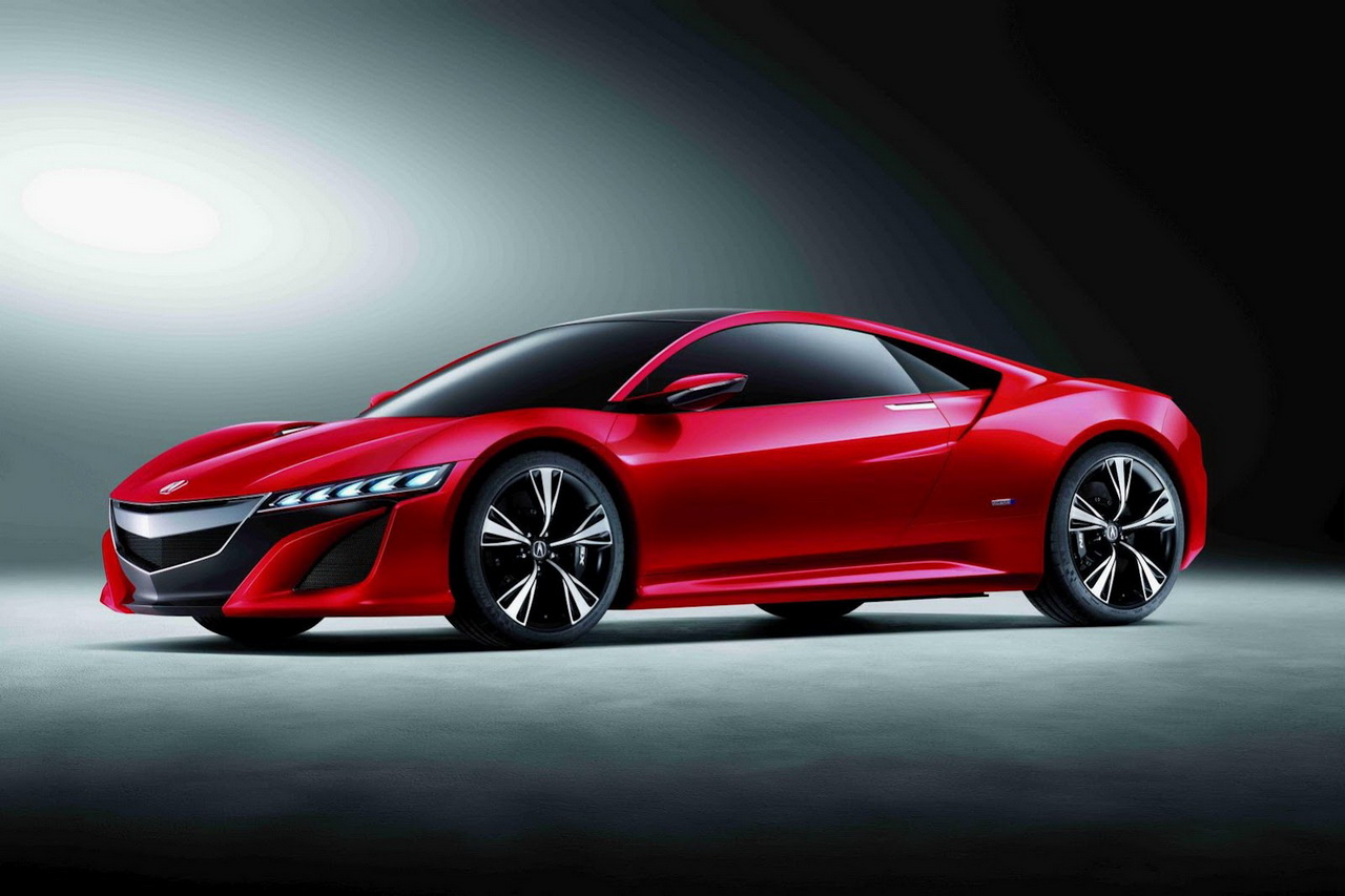 acura nsx concept wallpapers auto cars concept. Black Bedroom Furniture Sets. Home Design Ideas