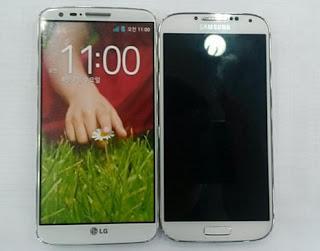 "Optimus G2 ""blockbuster"" smartphone against the Galaxy S4"