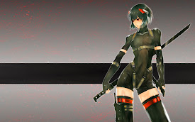 warrior girl sci fi body suit anime hd wallpaper
