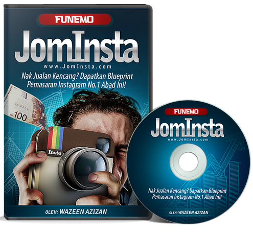 JomInsta Blueprint Pemasaran Instagram No 1