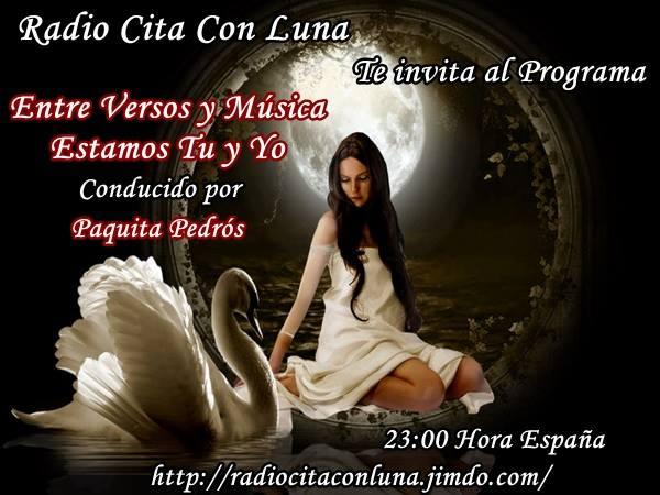 Ƹ̴Ӂ̴Ʒ  Radio Cita Con Luna Ƹ̴Ӂ̴Ʒ