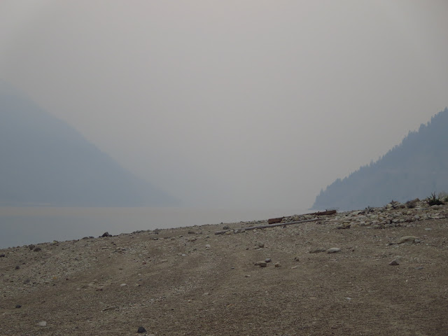 Upper Arrow Lake Forest Fire Smoke