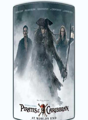 Pirates of the Caribbean 3 (2007) Dual Audio 480P 475MB Movie free Download