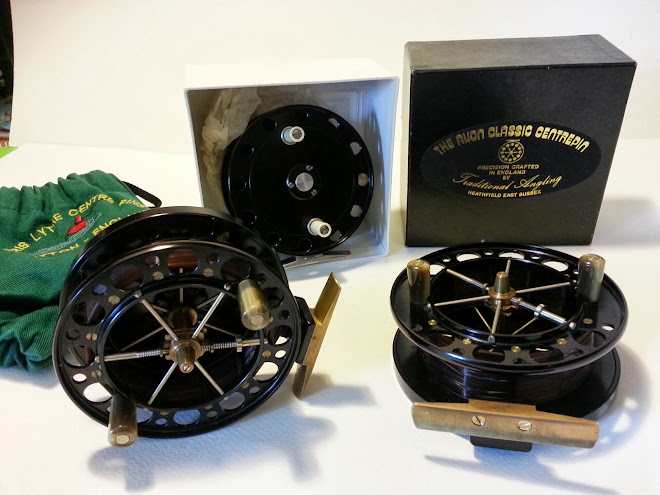 Chris Lythe & Richard Carter Handmade Centrepin Reels Up For Grabs!!
