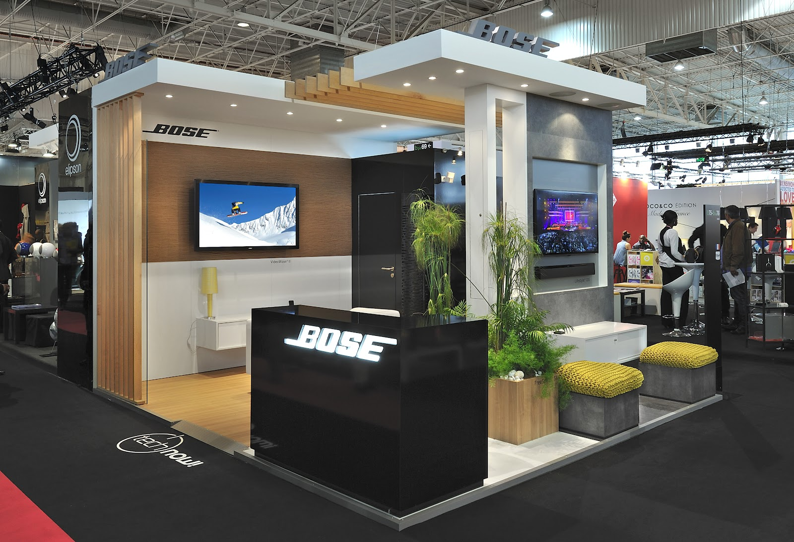 design de l 39 v nement stand bose salon maison objet septembre 2012. Black Bedroom Furniture Sets. Home Design Ideas