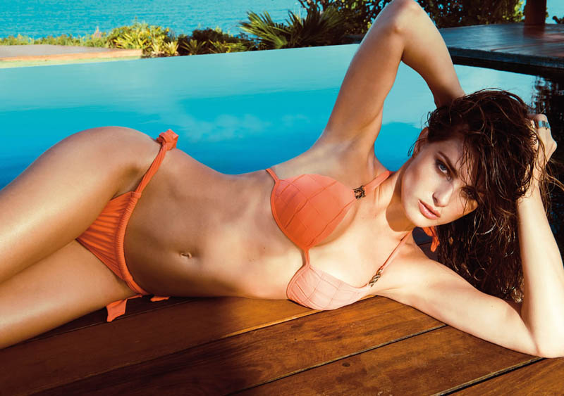 Isabeli Fontana for Morena Rosa Beach Summer 2015 Collection recommendations