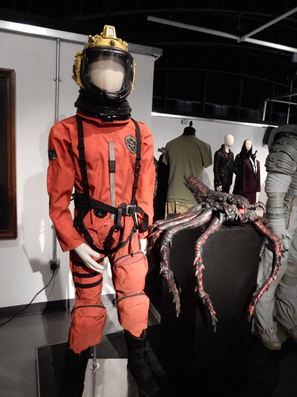 Orson Pink spacesuit Doctor Who Listen