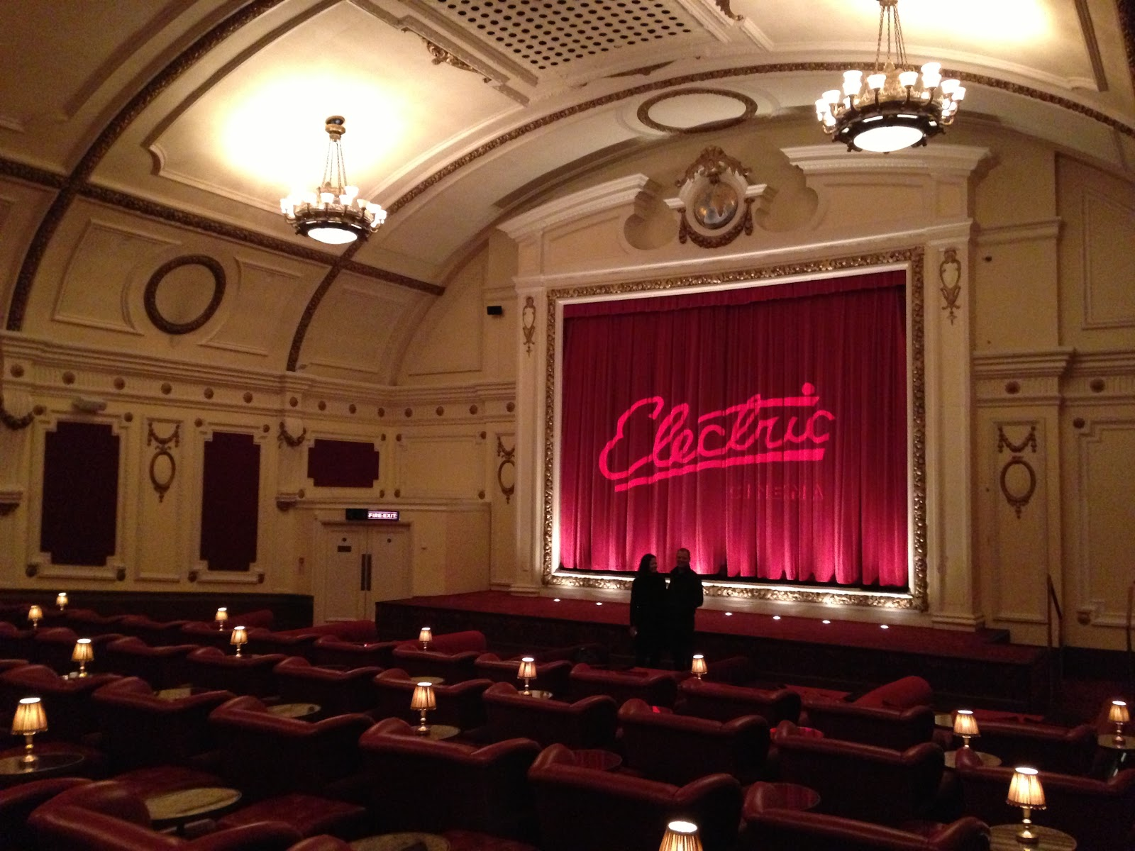Old fashioned cinema london 49