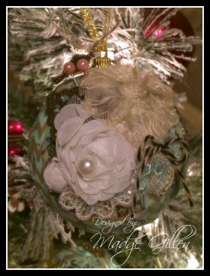 Twineology by timeless twine shabby chic christmas - Shabby chic christmas decorations to make ...