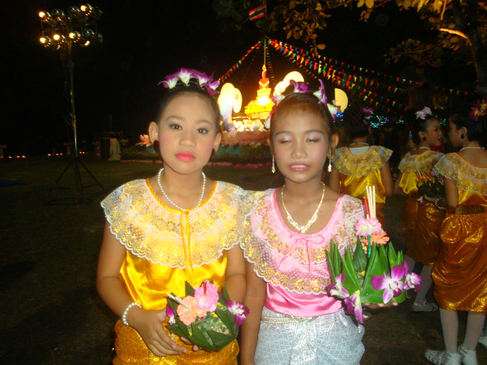 Thailand Loy Kratong Night