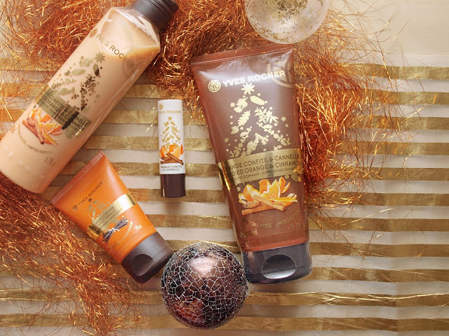 YVES ROCHER CHRISTMAS COLLECTION - CANDIED ORANGE & CINNAMON