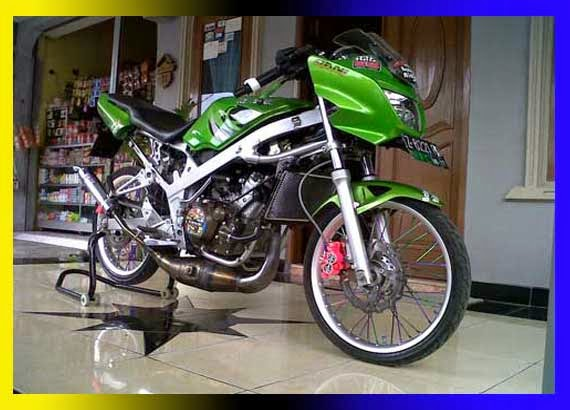 Modifikasi Ninja 150 RR Drag Race