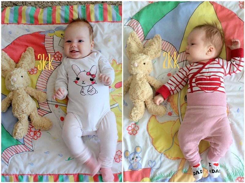 vauva kolme kuukautta