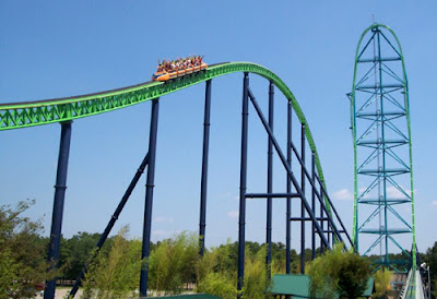 New Jersey, Amerika Serikat – Kingda Ka, Six Flags Great Adventure