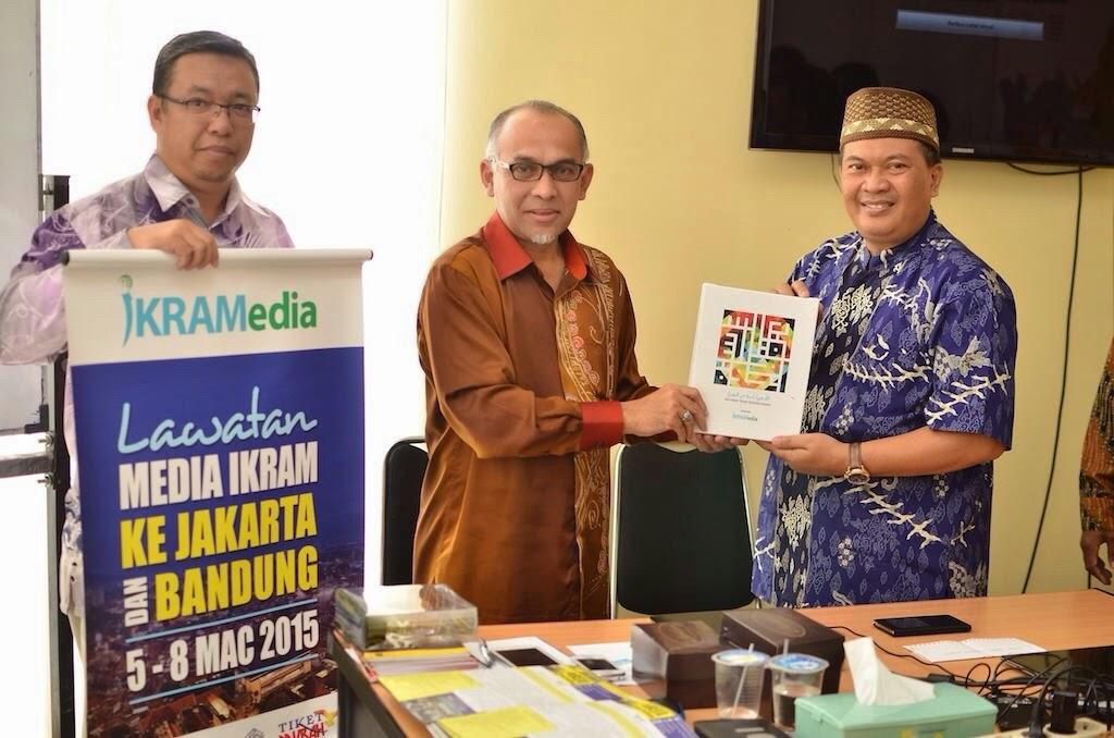Lawatan Ikram Malaysia ke PKS Kota Bandung