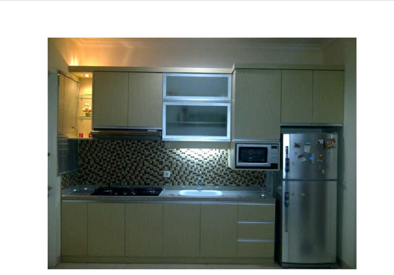 Furniture Interior Harga Terjangkau Kitchen Set Minimalis Dengan