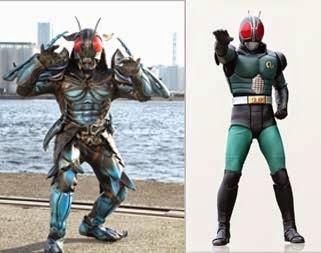 Kamen Rider Black RX Ternyata Berubah Jadi Monster