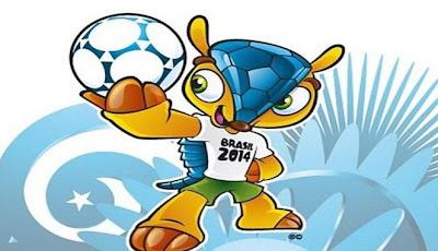 Gambar Fuleco Maskot Piala Dunia 2014 Brasil