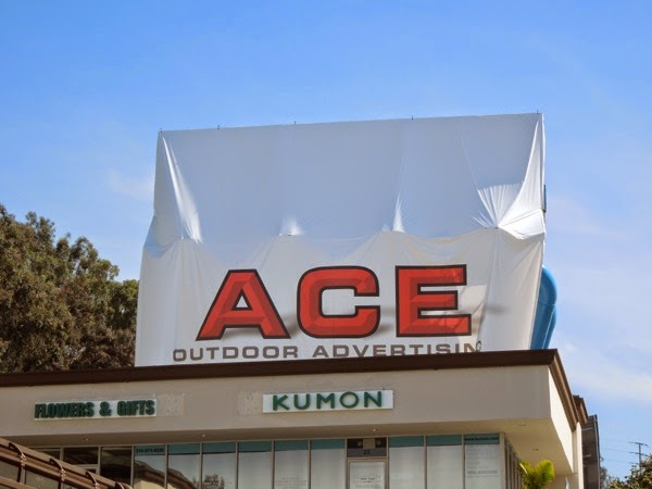 New Ace outdoor advertising billboard Sunset Strip