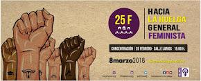 """Concentración 25F """"Hacia la huelga general feminista"""""""
