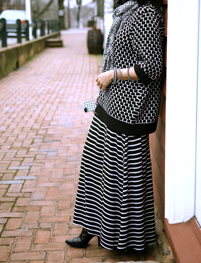 Black and White Prints Outfit