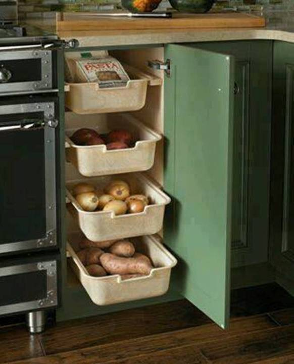 Storage And Organization Ideas Space Saving Ideas . . Fold Flat Space  Saving Kitchen ... Pantries Are Amazing Sources Of Storage, But Many Homes  Just Donu0027t ...