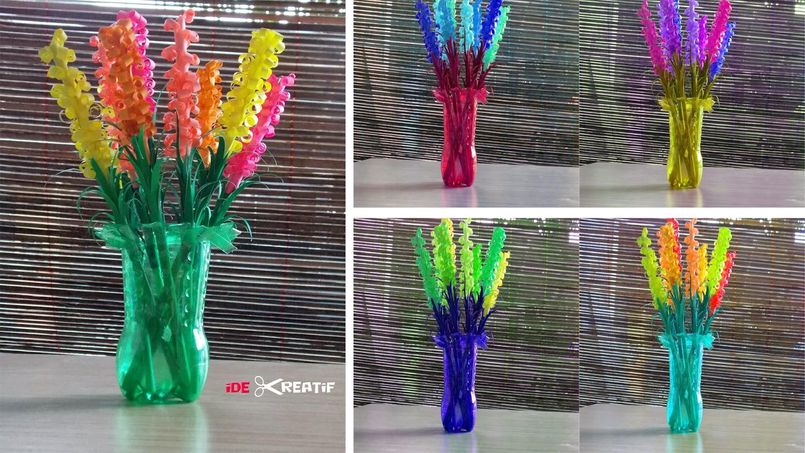 Cara membuat origami bunga lavender - CAPCAPUNG