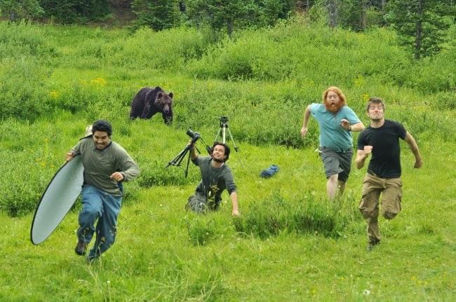Профессия фотографа полна сюрпризов и неожиданностей!