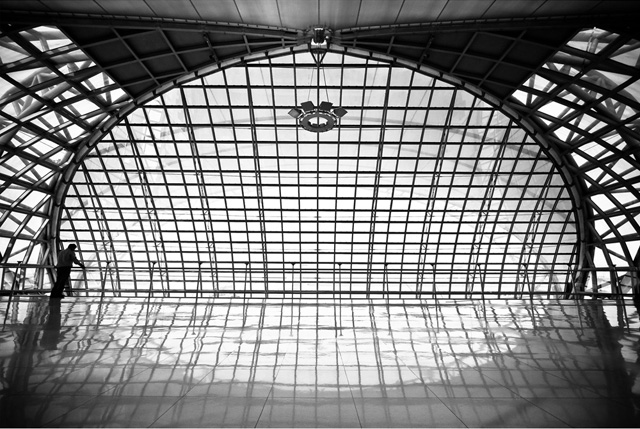 Urba actu photo d 39 architecture gary annett manie for Architecture noir et blanc