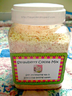 Pink Hot Chocolate Mix
