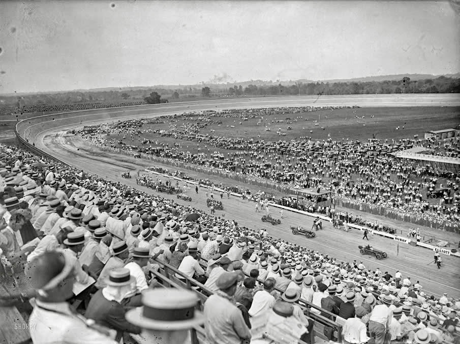 Carrera de coches 1925