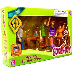 Pre-kindergarten toys - Mystery Mates Figure 5Pack Mystery Solving Crew