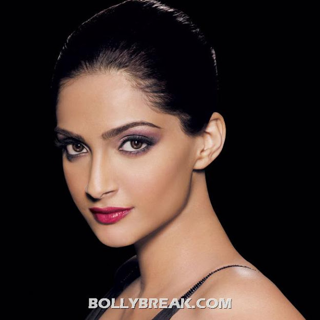 Sonam kapoor Face Close up Photo for L'Oreal - Sonam kapoor L'Oreal Photo - Face CloseUp