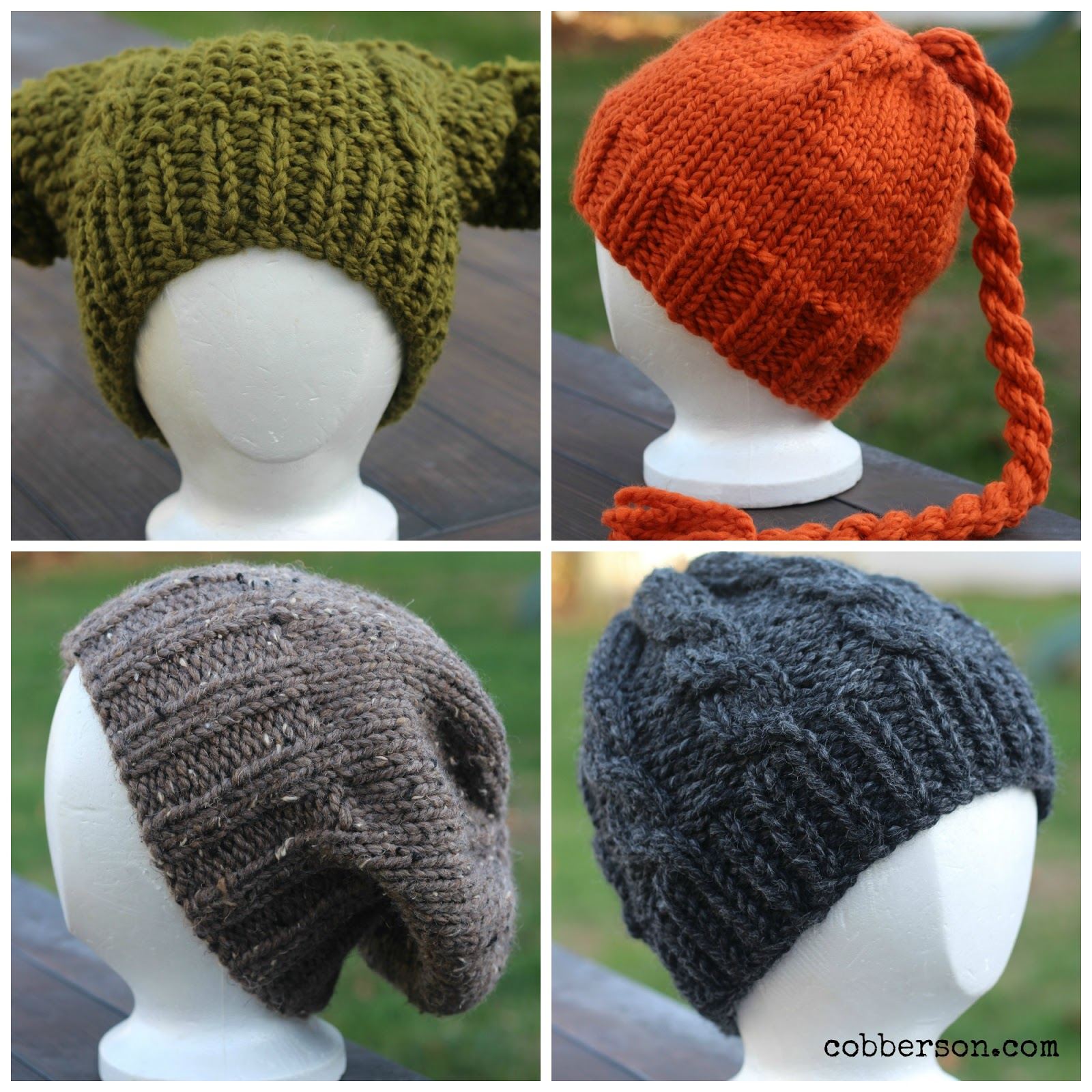 cobberson etsy hand knit hats
