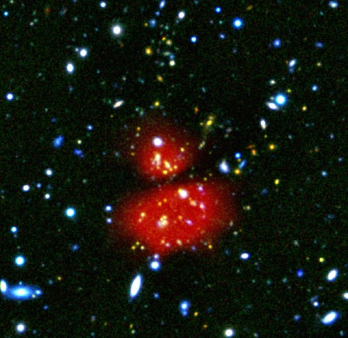ESA ammasso di galassie XDPCJ0044